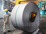 12,000 tonnes of iron sheets shipped to Europe