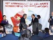 Int'l community hails Vietnam's contributions to UN