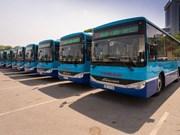 Hanoi adds 15 new buses
