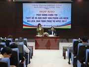 Da Nang announces souvenirs, gifts for APEC 2017
