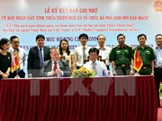 Denmark helps clear leftover ordnance in Thua Thien-Hue