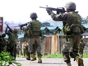 Ten Philippine soldiers killed in military air strike