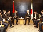 Prime Minister meets Japanese entrepreneurs
