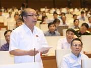 Legislators discuss measures to fulfill GDP growth target
