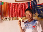 Vietnam has gold medals at int'l women's canoe tourney