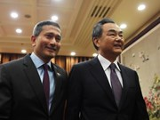 China, Singapore seek to expedite RCEP talks