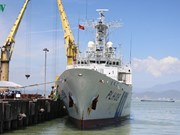 Japan Coast Guard vessel visits Da Nang