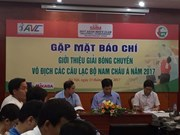 Vietnam to host Asia Men's Club Volleyball Championship