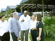 Cuban top legislator visits Son La province