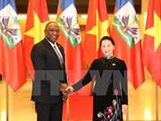 Vietnam, Haiti parliament heads in talks