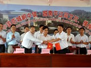 Quang Ninh's communes build friendly relations with Chinese town