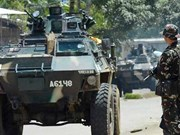 Armed insurgents attack school in southern Philippines