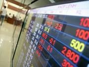 Bank shares drive market down