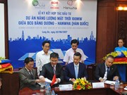100-million USD solar power plant to be built in Long An