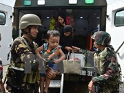 Philippine military declares humanitarian cease-fire in Marawi