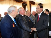 President meets Belarusian friendship association members