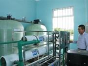 Soc Trang inaugurates hi-tech water supply station