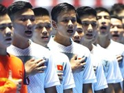 Vietnamese Futsal team assemble for SEA Games training