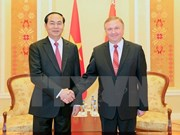 President Tran Dai Quang seeks more investment projects with Belarus