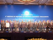Vietnam attends Meeting of Speakers of Eurasian Countries' Parliaments