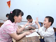 Project helps disabled children in Quang Binh
