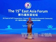 Deputy FM co-chairs 15th East Asia Forum