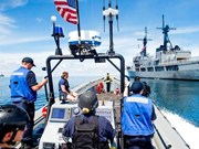 US, Philippines hold joint naval patrol