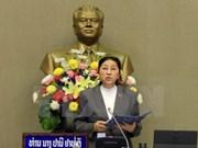 Lao NA Chairwoman begins Vietnam visit