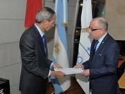 Argentine FM hails Vietnam development achievements