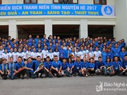 Nghe An students to carry out voluntary activities in Laos