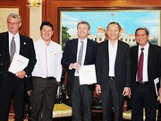 HCM City supports Siam Cement in making green building materials
