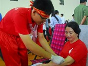 Thousands of people join blood donation festival in Can Tho