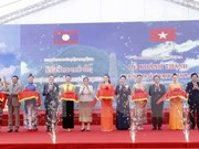 Vietnam-Laos historical relic site inaugurated