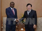 Deputy PM Trinh Dinh Dung meets with ICAO Council President