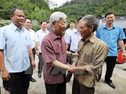 Party leader urges Bac Kan to focus on infrastructure development