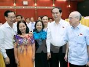 President Tran Dai Quang meets Ho Chi Minh City constituents