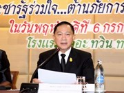 Thailand prepares anti-human trafficking plan for second half