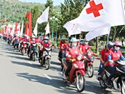 Red journey campaign attracts thousands participants in the south