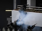 Malaysia police conduct SEA Games security drills