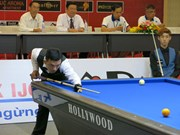 International billiards tourney kicks off in Binh Duong