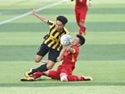 Vietnam beats Malaysia at AFF U15 champs