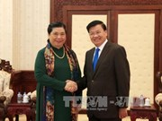 NA Vice Chairwoman welcomed in Laos