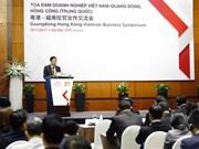 Vietnam, Guangdong, Hong Kong firms seek business opportunities