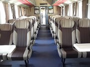 Another luxury train launched on HCM City-Nha Trang route