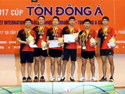 RoK, Thailand win team events at int'l table tennis championship