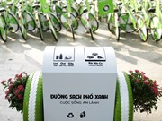 Sponsor brings smart bins to Da Nang