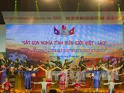 Vietnam, Laos border guards hold joint patrol
