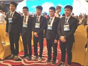 Vietnam grabs 4 golds, 1 silver at Int'l Physics Olympiad