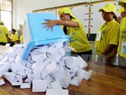 Timor Leste announces parliamentary election results