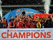Vietnam brings home AFF U15 championship trophy
